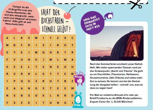 Allgemein Münchner Kinderzeitung