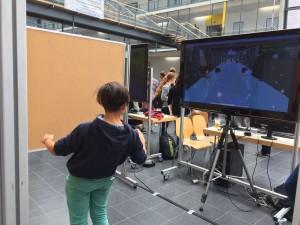 Ale beim Besuch des Gamesday an der TU