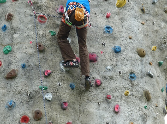 climbing wall photo
